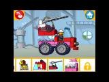 Lego Juniors! Лего Игры! ПОЖАРНЫЕ МАШИНЫ! Серия 21! Мультик Лего для МАЛЬЧИКОВ И ДЕВОЧЕК!
