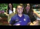 Repórter do SporTV faz sucesso com as mulheres em programa ao vivo Las Vegas o