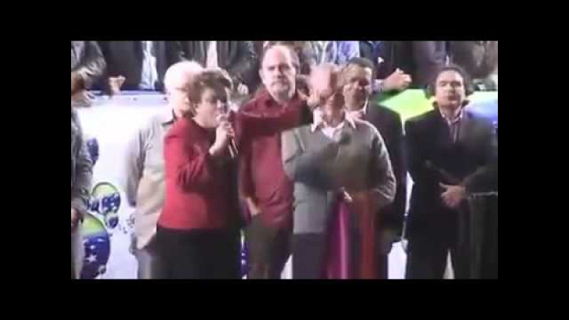 DILMA FALA DO SEU VICE MICHEL TEMER COM ORGULHO