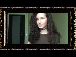 Jah Khalib – Leila, cover. Красивая брюнетка классно поёт, самая красивая девушка вк, Шёлковое платье, ковер (cover)... Тест, ак