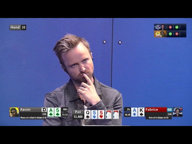Global Poker League Highlights GPL Summer Series Aaron Paul vs Fabrice Soulier