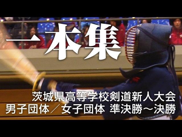 剣道新人戦 一本集 男子団体 女子団体「準決勝~決勝」|茨城県 3964
