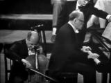 М. Ростропович, С. Рихтер - Л. Бетховен, Соната для виолончели и фортепиано №4 до мажор op.102 №1