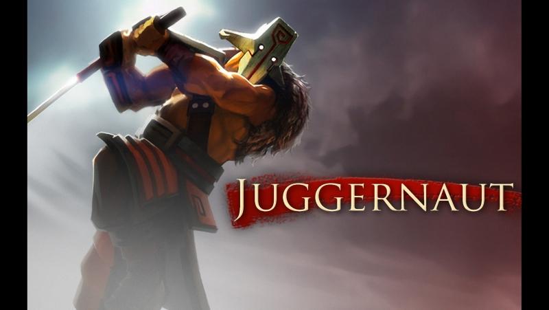Dota 2 Juggernaut Rampage 6.86