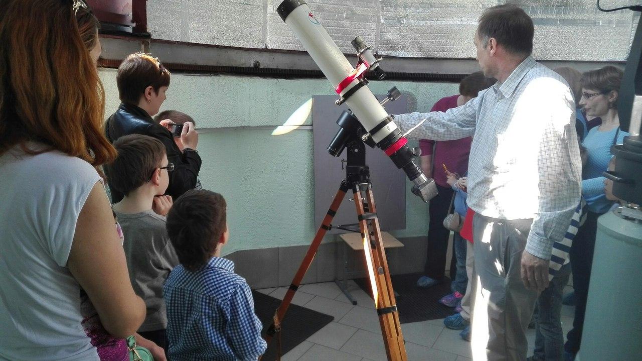 Экскурсия в Народную обсерваторию