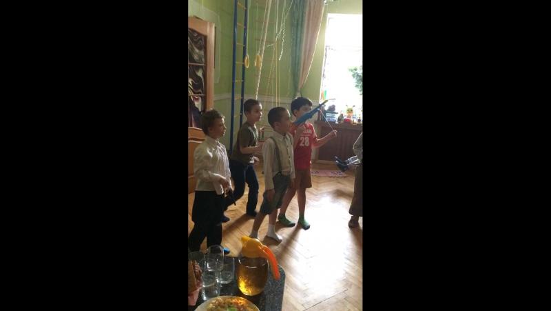 День Рождение Димы-8 лет- в гости пришёл Кай из Лего Ниньдзяго