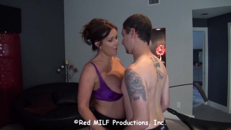 His step mom is taking a large cock in her tight cunt