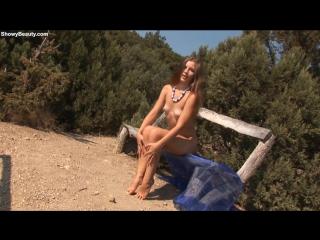 [sb] 20150203 amelia-sexy walk крым пляж эротика нудистка на пляже