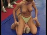 Female pin wrestling