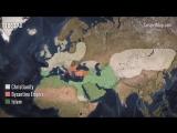 Религиозно-геополитическая карта - от Римской империи до коммунизма