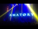 Amatory Белый Шум Live In Moscow 15 04 2016