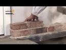 Кладка облицовочного клинкерного кирпича и кирпича ручной формовки (Vandersanden, Quick-mix)