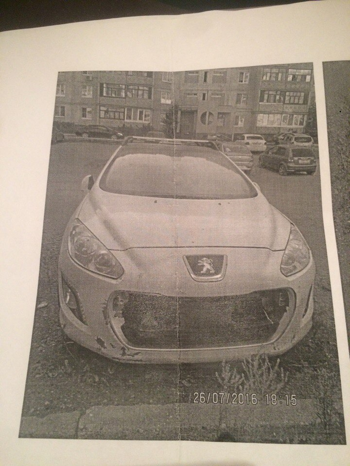 В Уфе угнали автомобиль «Пежо», нашедшему гарантируется вознаграждение 30 000 рублей
