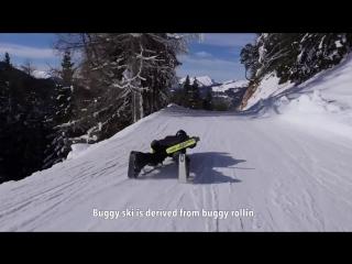 Этот лыжный трансформер показал всем, что такое настоящий драйв