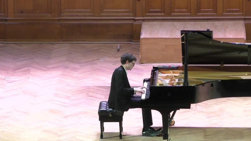 14 конкурс чайковского фортепиано 1 тур э кунц равель ночной гаспар видео