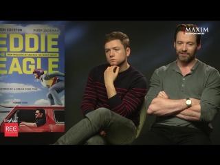 Хью Джекман и Тэрон Эджертон рассказывают о любимых фильмах, играх и музыке [DC | MARVEL Universe]