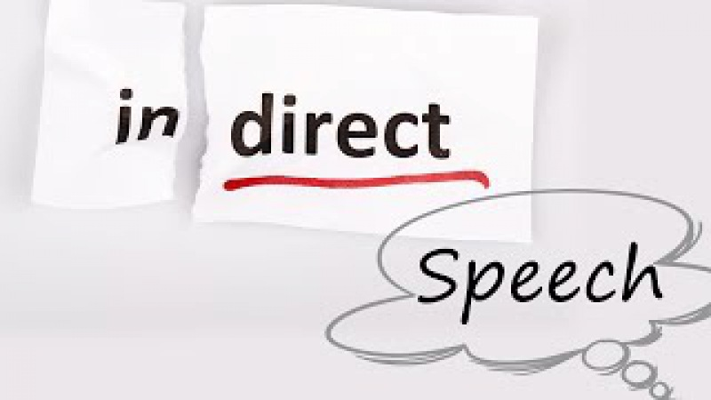 Indirect Speech (Statements) - English Lesson | Part 1