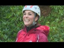 Kate and Will try out abseiling in North Wales