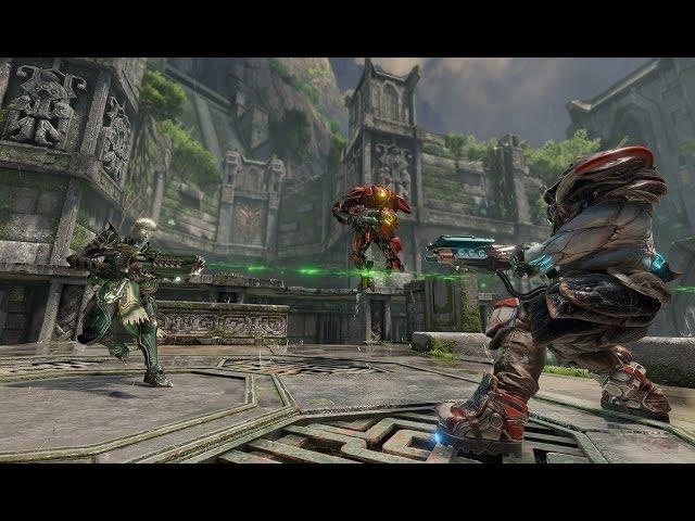 Дебютный видеоролик из игры Quake Champions