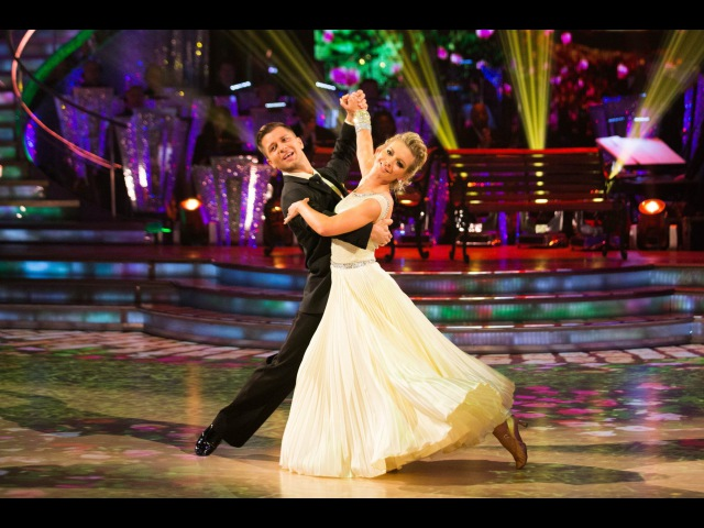 Rachel Riley Pasha Kovalev - Waltz to 'When I Need You' - Strictly Come Dancing 2013 Week 1 - BBC One