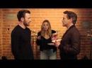 Chris Evans, Robert Downey Jr Elizabeth Olsen - Tony Steals The Last Donut