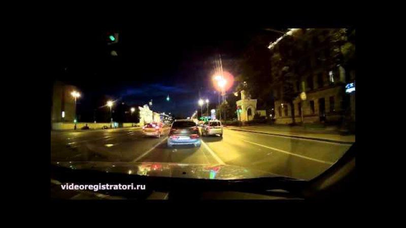 Видеорегистратор Каркам Q7 - Обзор - Пример ночь 1296p