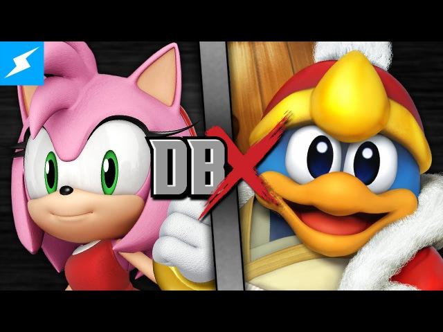 Amy Rose VS King Dedede (Kirby VS Sonic the Hedgehog)   DBX