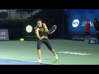 2016 Dubai Duty Free Tennis Championships Hot Shot   Jelena Jankovic