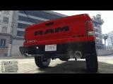 САМЫЙ БОЛЬШОЙ ПИКАП!  Dodge RAM В GTA 5 - ОБЗОР И КРАШ-ТЕСТ МОДА