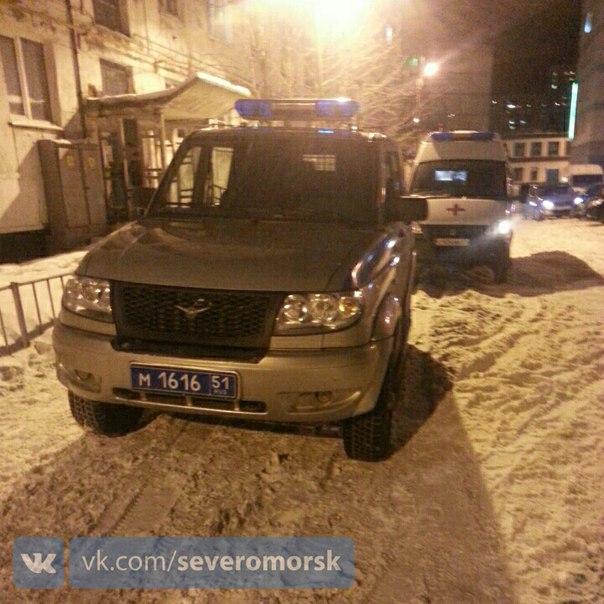 В Североморске на ул.Колышкина мужчину ударили по голове