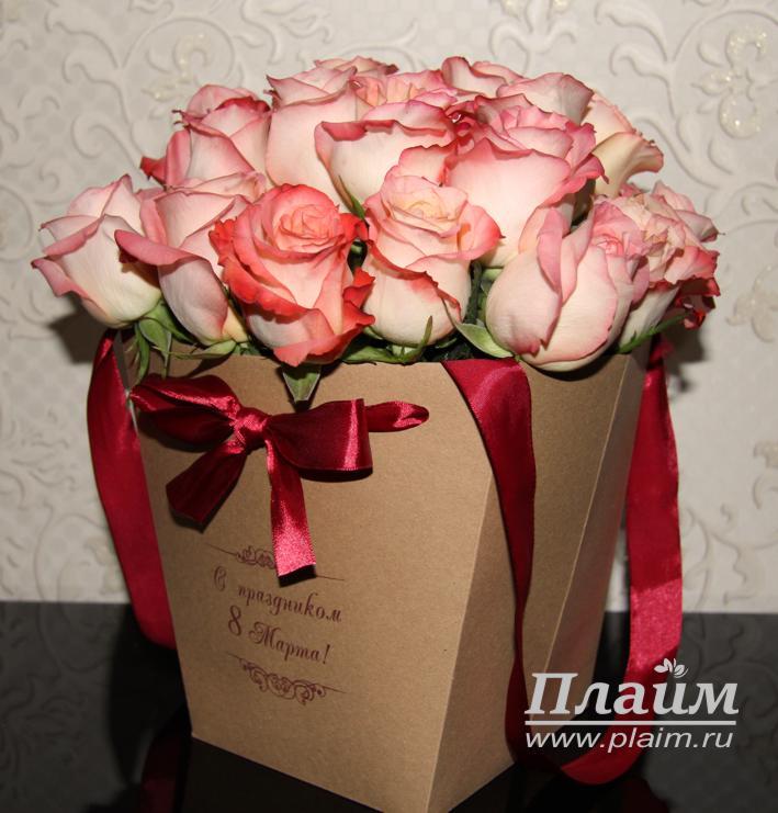 Цветы в пакете своими руками 82
