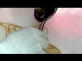 Искусство рисовать бабочку из карамели!