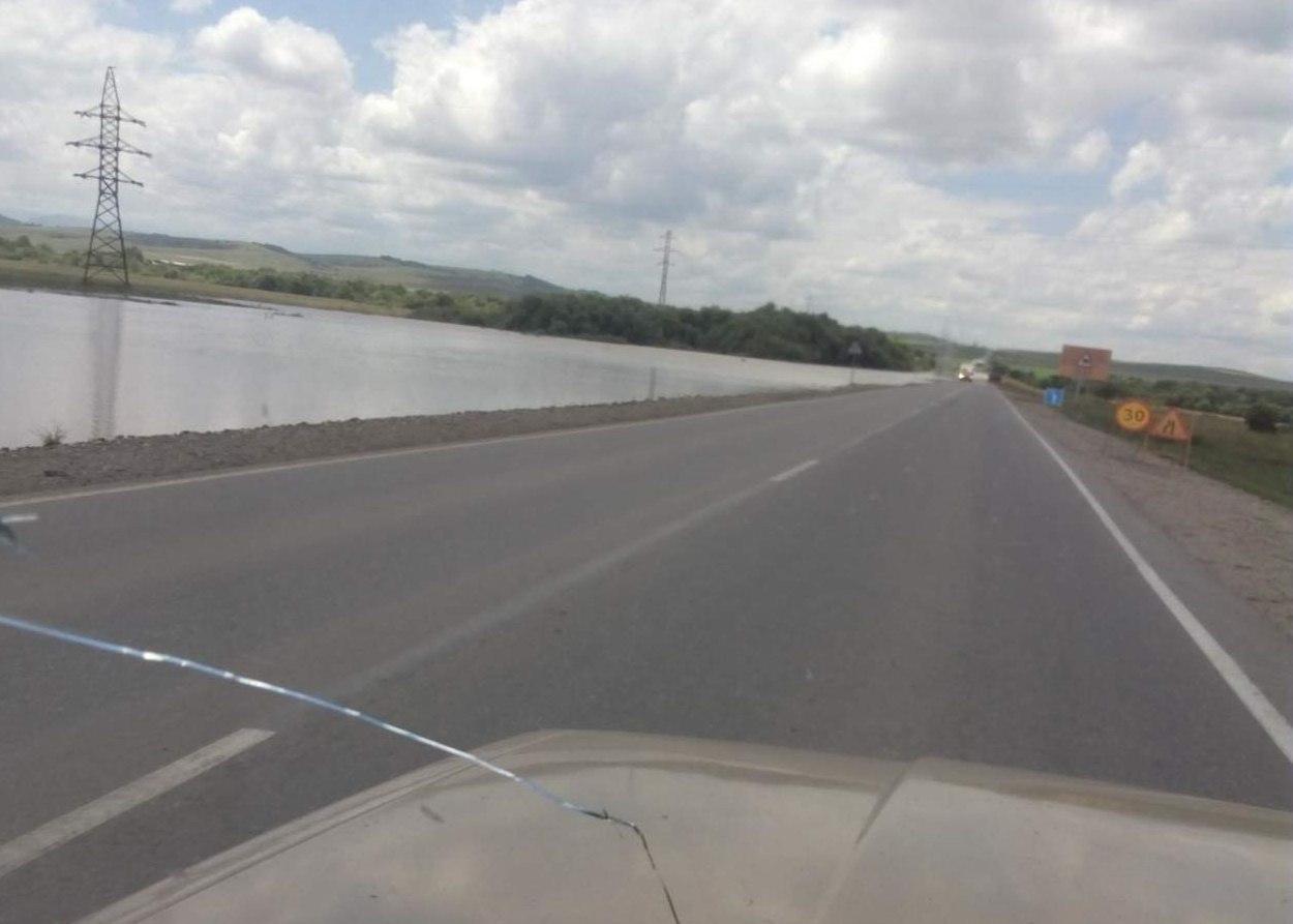 В Зеленчукском районе река Маруха вышла из берегов