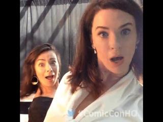 Bridget Regan by twitter Comic-Con HQ