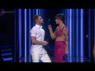 Måns Zelmerlöw and Petra Mede - Love Love Peace Peace / Евровидение 2016 / Eurovision 2016