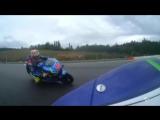 MotoGP CzechGP - гироскопическая камера с поворотом на 360 градусов