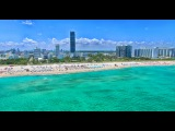 Майами Бич пляж. Полет над океаном. 2016. Экскурсия в Майами