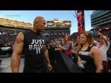 WWE WrestleMania 31 - The Rock & Ronda vs. Triple H & Stephanie McMahon