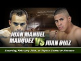 Хуан Мануэль Маркес - Хуан Диас  BoxingRoom
