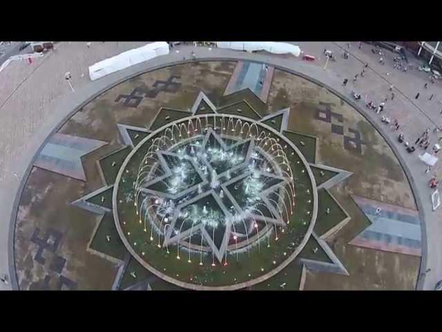 Площадь тысячелетия Саранск 27.09.2015