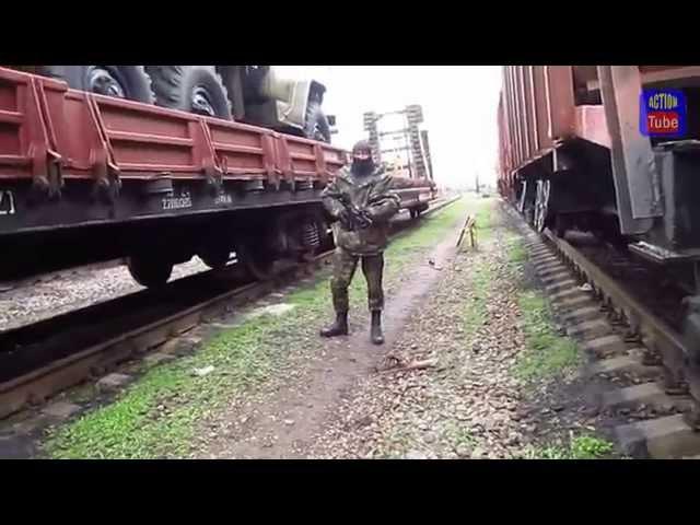 Так начиналась война на Донбассе/Since the war began in the Donbas