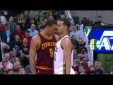 Lyles, Frye Ejected After Confrontation | Cavaliers vs Jazz | March 14, 2016 | NBA