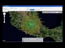 Huge Spiral Over Mexico - Weather Radar