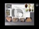 Константин Михайлов «Динозавры на гнездах яйца, кладки и забота о потомстве динозавров»