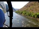 Мир Приключений - Экстремальный полёт на вертолёте над рекой Замбези. Extreme helicopter flight.