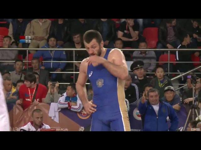 ЧР-2016. 74 кг. Финал. Аниуар Гедуев - Денис Царгуш