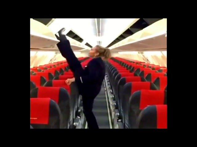 Стюардесса со скрытым талантом \ Stewardess with a hidden talent