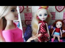 Барби мультик на русском с куклами Эвер Афтер Хай мультики про barbie стоп моушен. Куклы Шоу #26