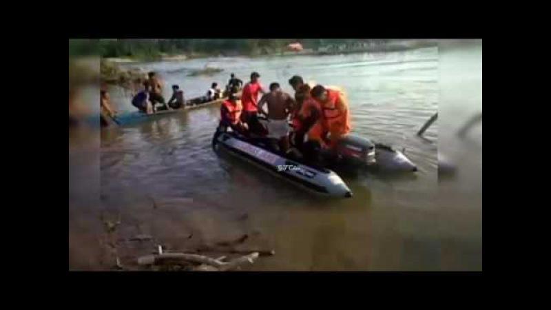 Evakuasi Jenazah 4 Orang Meninggal Kapal Tenggelam Di Jambi