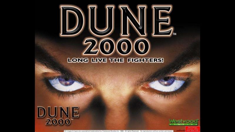 Первый взгляд на игру Dune 2000 - Дюна 2000. .